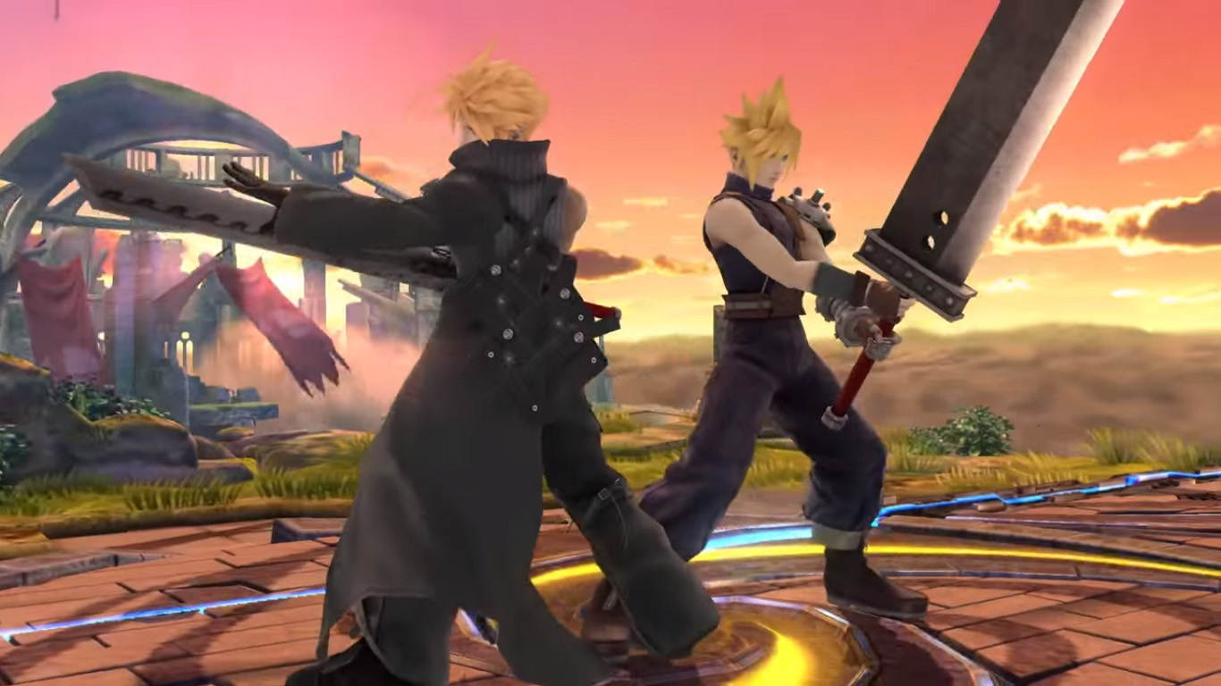Cloud Strife Joins Smash Bros Your Site Title