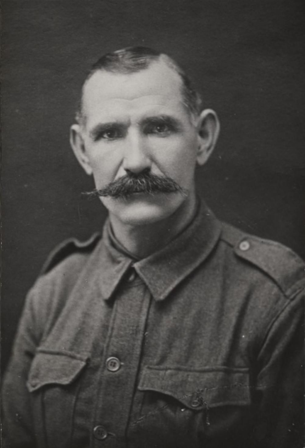 Thomas John 'Jack' Don on enlistment, 1916. Courtesy State Library of Western Australia