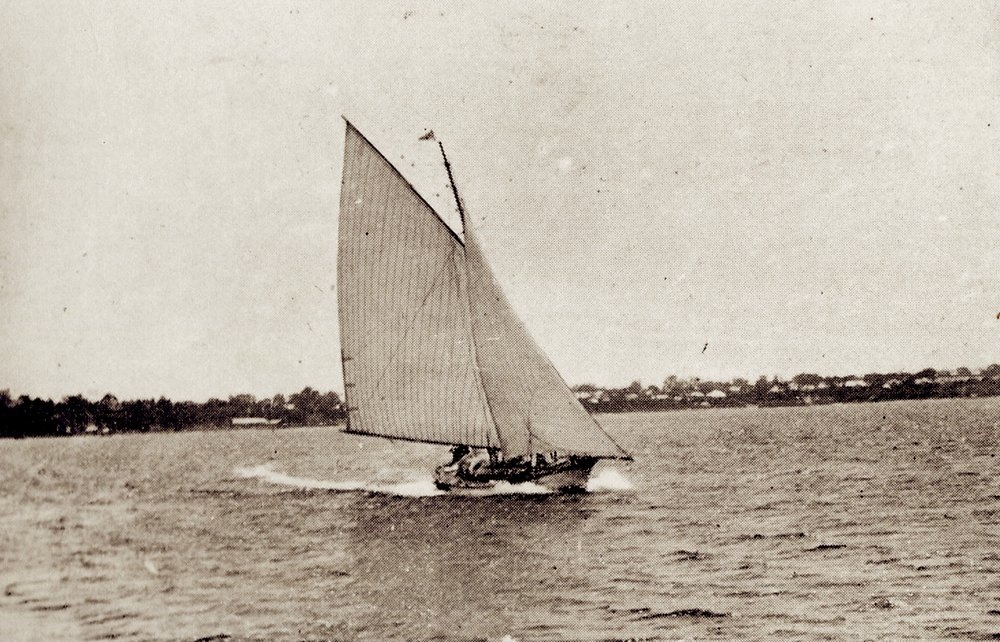 The Yacht Banshee, Courtesy of the Royal Flying Squadron Yacht Club