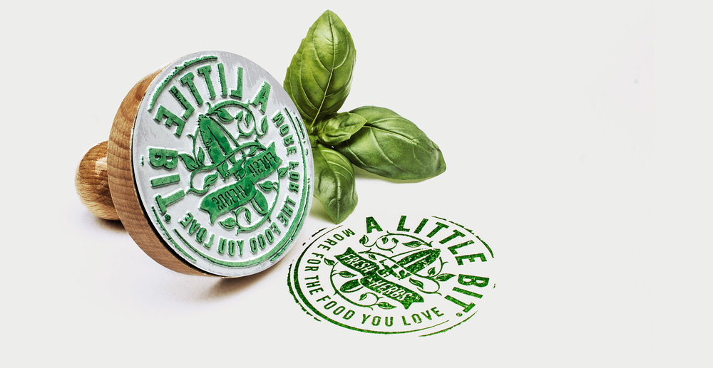 A Little Bit Sauces and Dressings Branding and Packaging Design - Brand Stamp