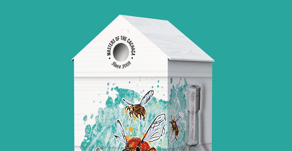Structural Design and Brochure Design for Alcohol Brand Albelha - Box Design