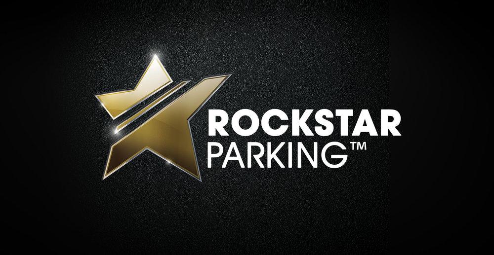 Rockstar Parking Band Identity - Star Logo and Corporate Identity
