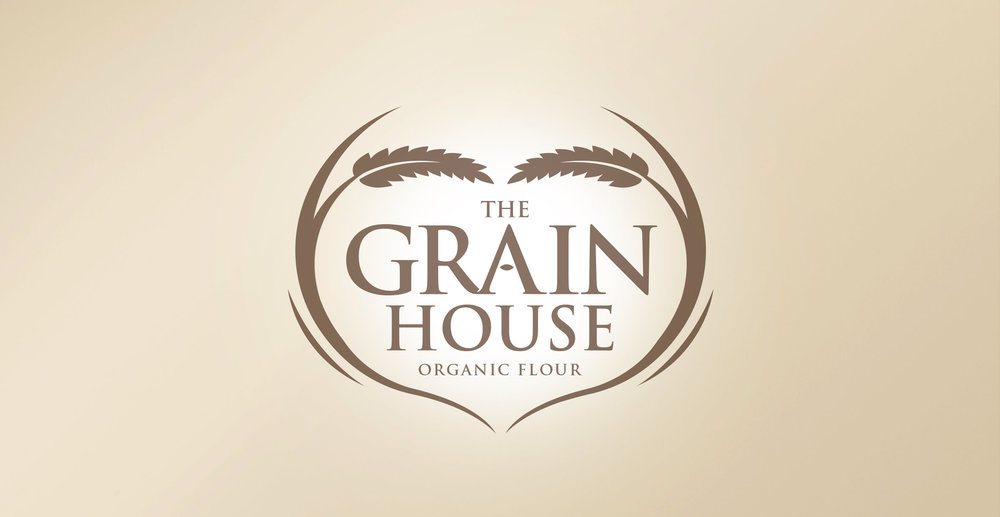 Premium Branding Design for Food Brand Grainhouse Flour - Logo