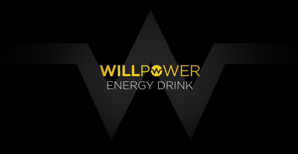 Branding and Packaging Design for Energy Drink Brand Willpower - Logo