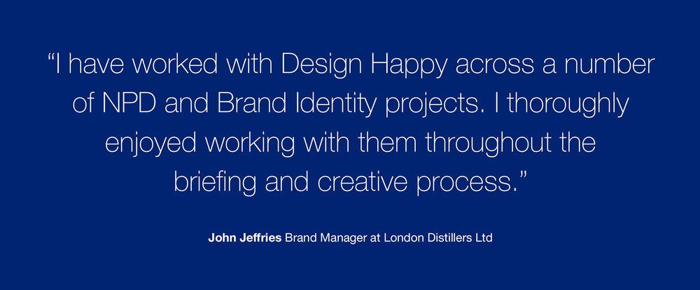 Brand Creation and Packaging Design for Australian Beer Brand Bluey Lager - Customer Testimonial