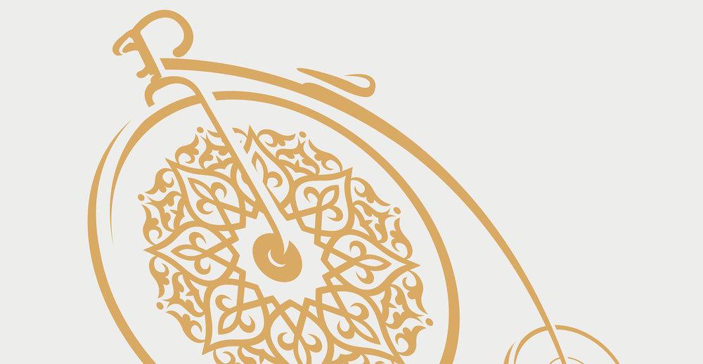 Brand Design for Restaurant Chain Bombay Bicycle Club - Logo Design