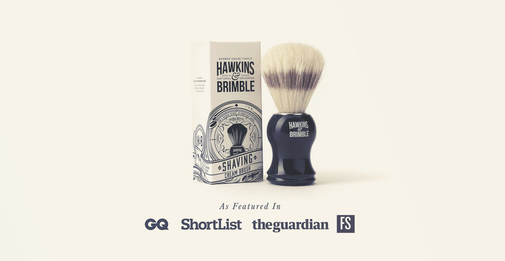 Launching a male grooming brand - Hawkins & Brimble as featured in GQ, Shortlist, The Guardian and Forever Sports