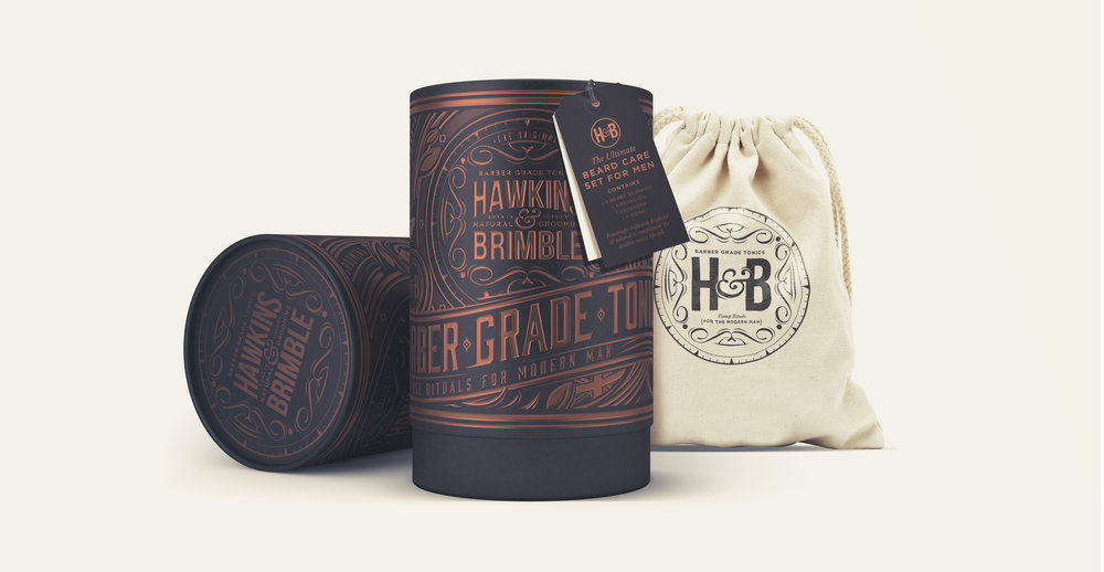 Launching a male grooming brand - Christmas gift box