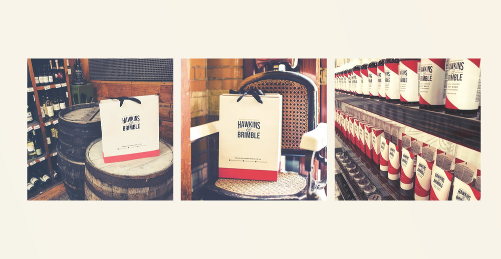 Launching a male grooming brand - Trade show gift bags
