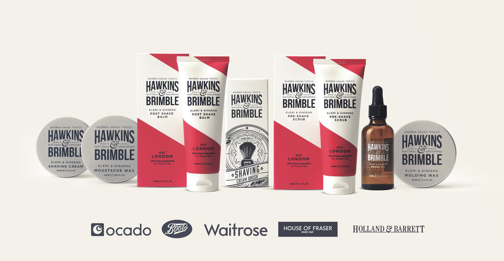 Launching a male grooming brand - retail listings