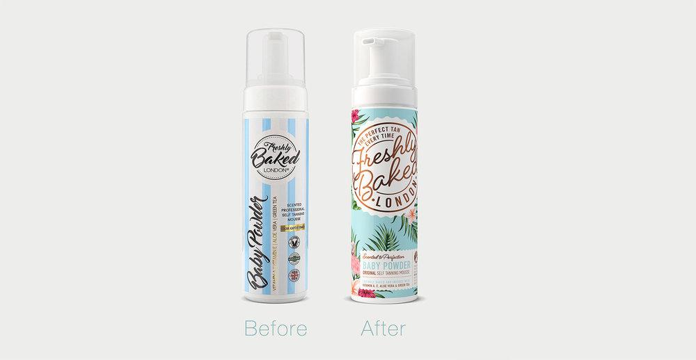 Freshly Baked branding and packaging design