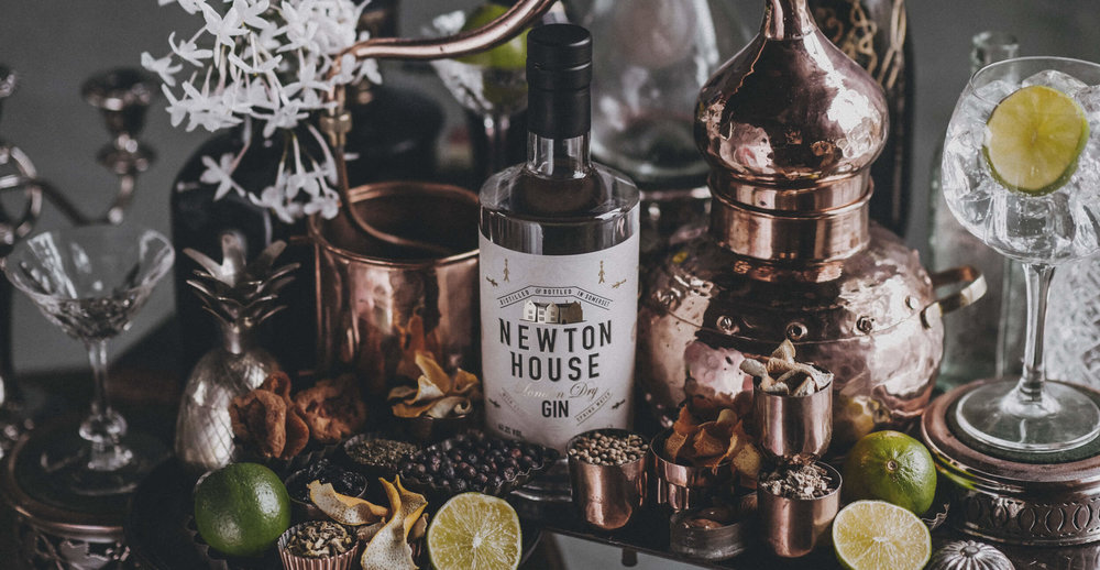 Newton Gin Branding and Packaging Design Pack Photography