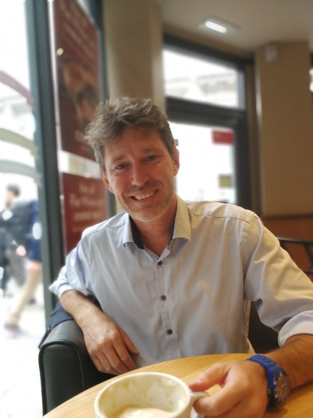 Gavin Colborne, Founder of the web governance platform Little Forest. Photo by Janus Boye while in London, September 2018