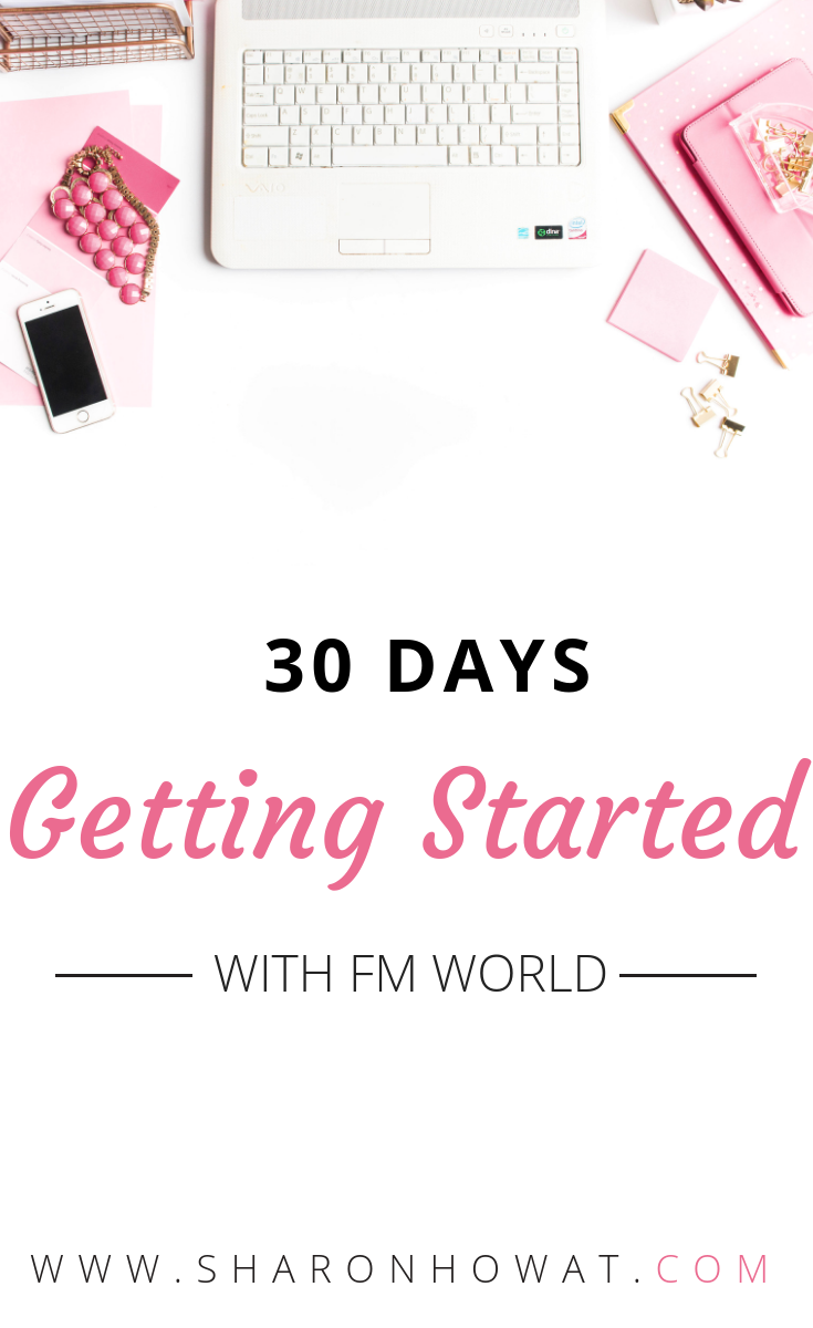 Pin this image to share with others, how to get started with FM World