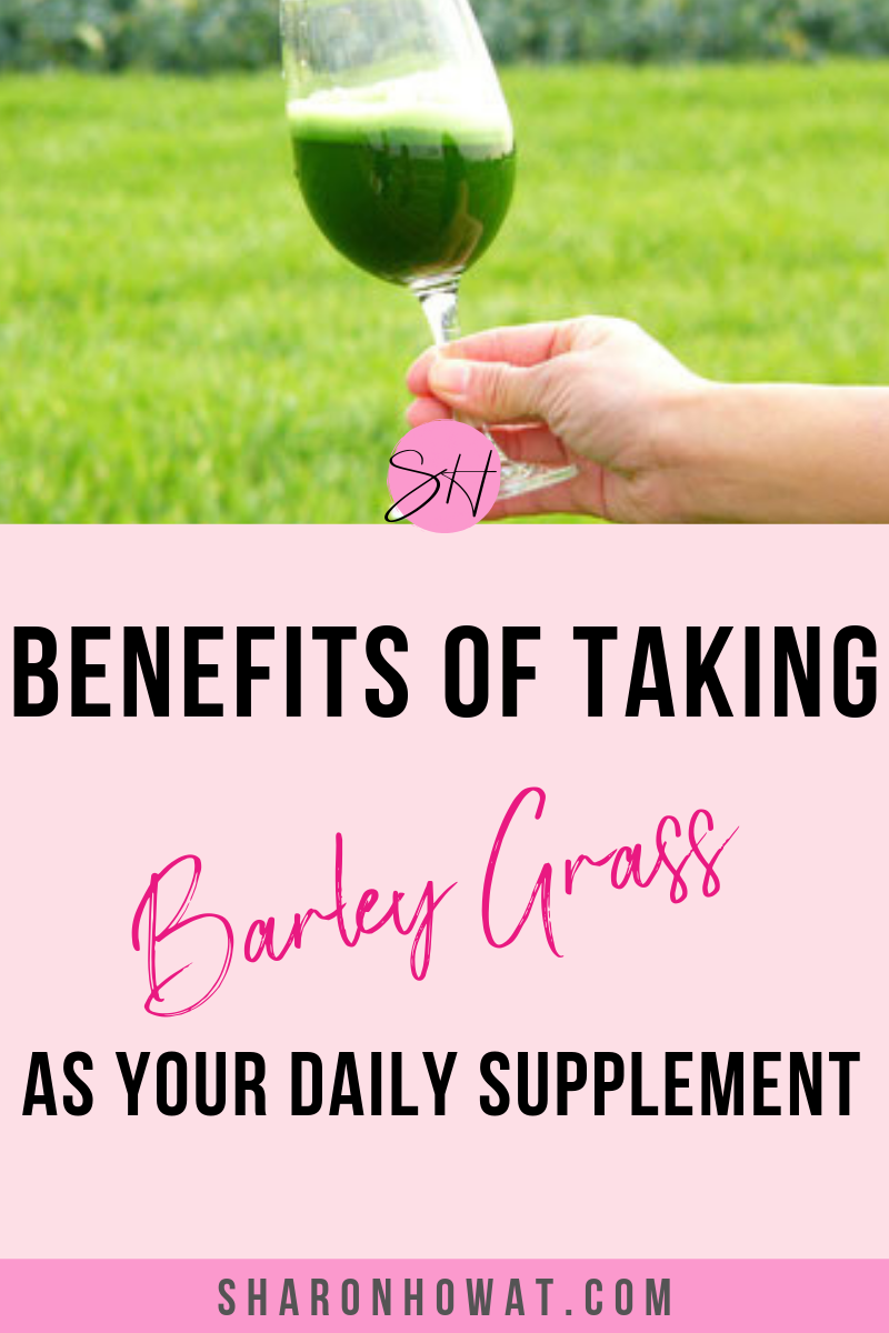 5 benefits of Barley Grass - have you tried this taking a young barley supplement to keep in shape and for gut health?  Have you heard about it's natural benefits? #nutricode #fmworld #idealshape #barleysupplements #barleygrass