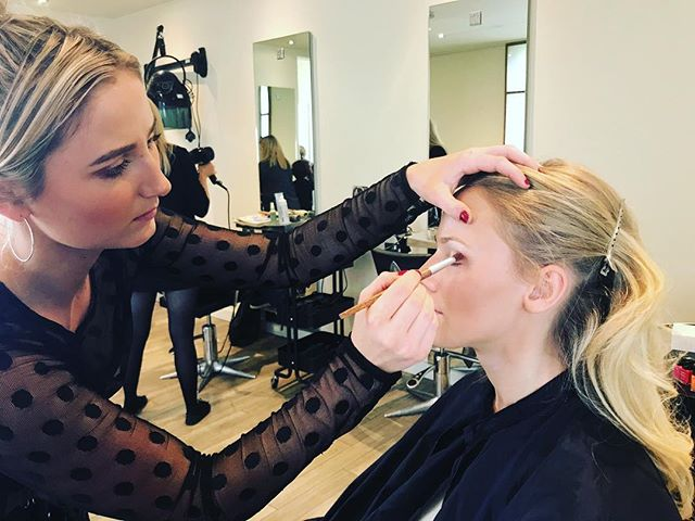 Did you know we stock the full range of @aveda makeup? Why not come and see our makeup artists Emelie and Hannah for advise on our cruelty free products #crueltyfreemakeup #aveda