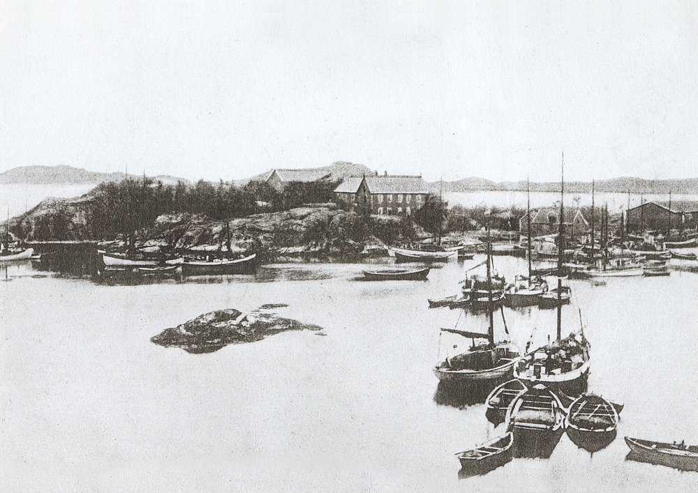 During the 20th century Skjerjehamn was one of the largest ports in Western Norway