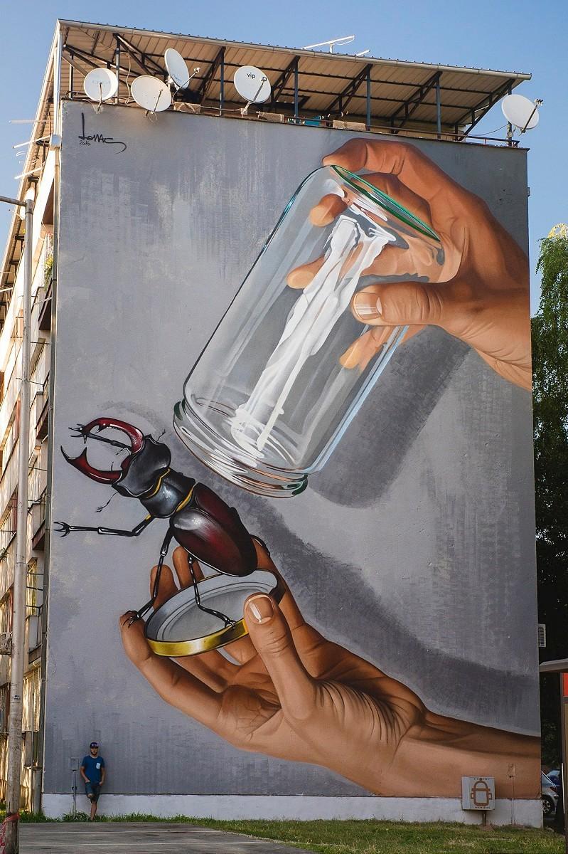 ART BY LONAC, ZAGREB