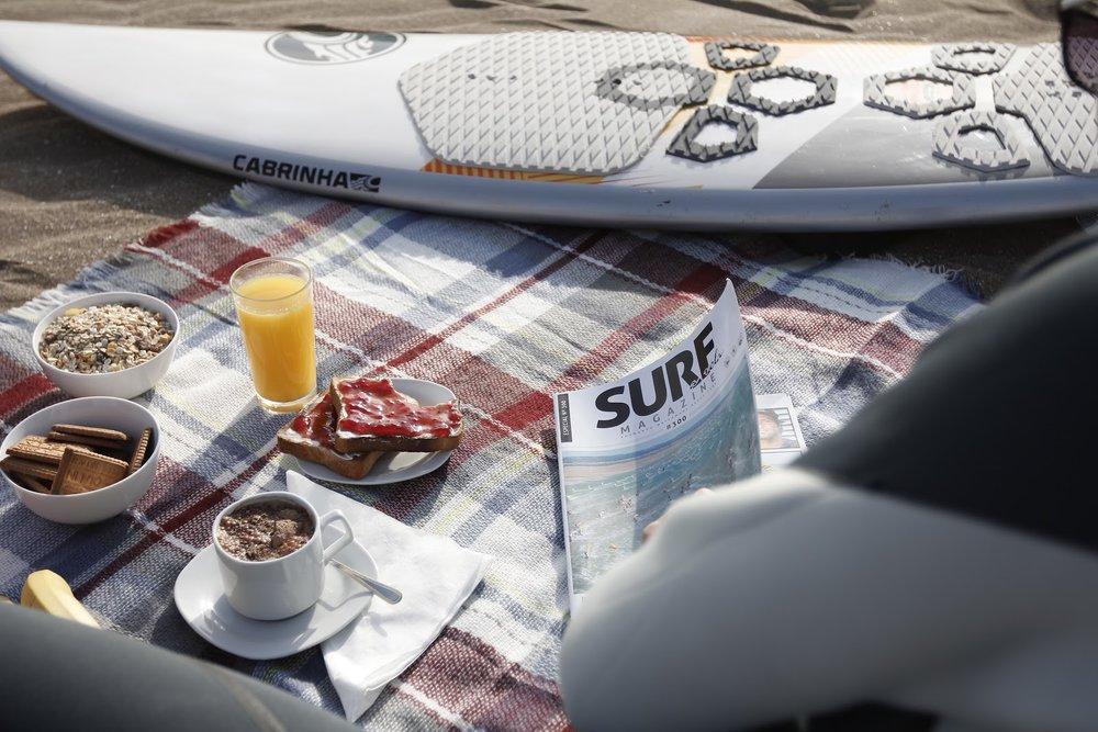 SURF A VELA Tipo de trabajo