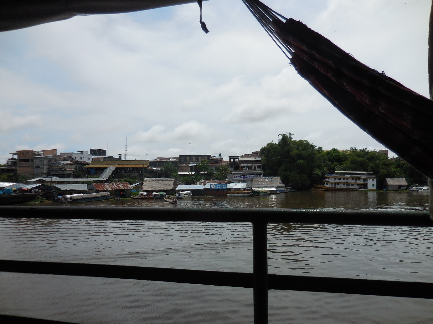 Slow boat out of Iquitos