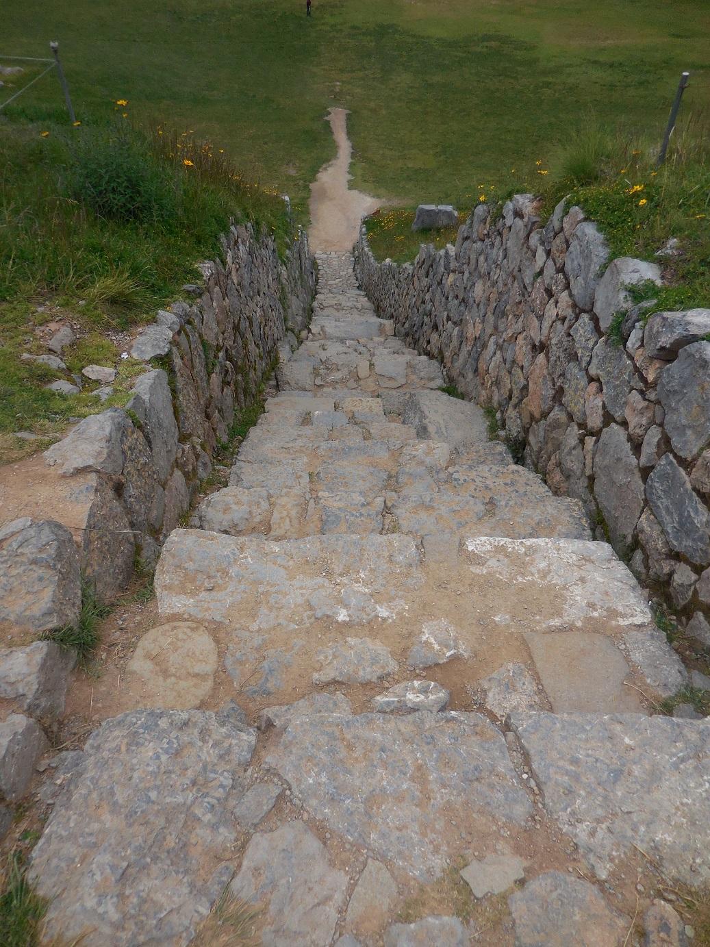 Saqsaywaman stairs
