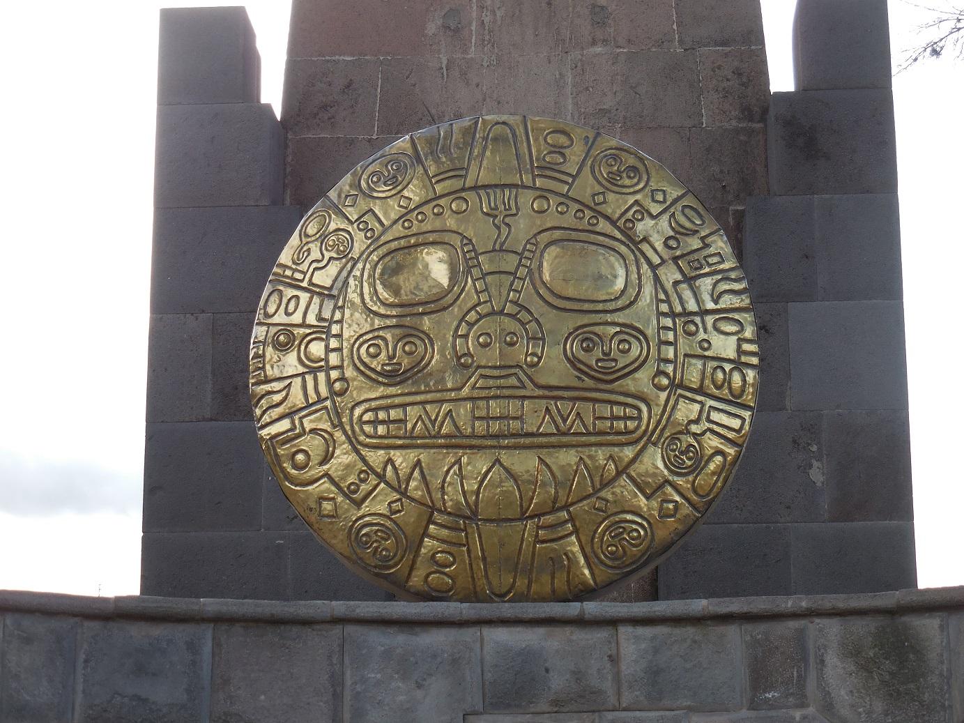 Inka Medallion