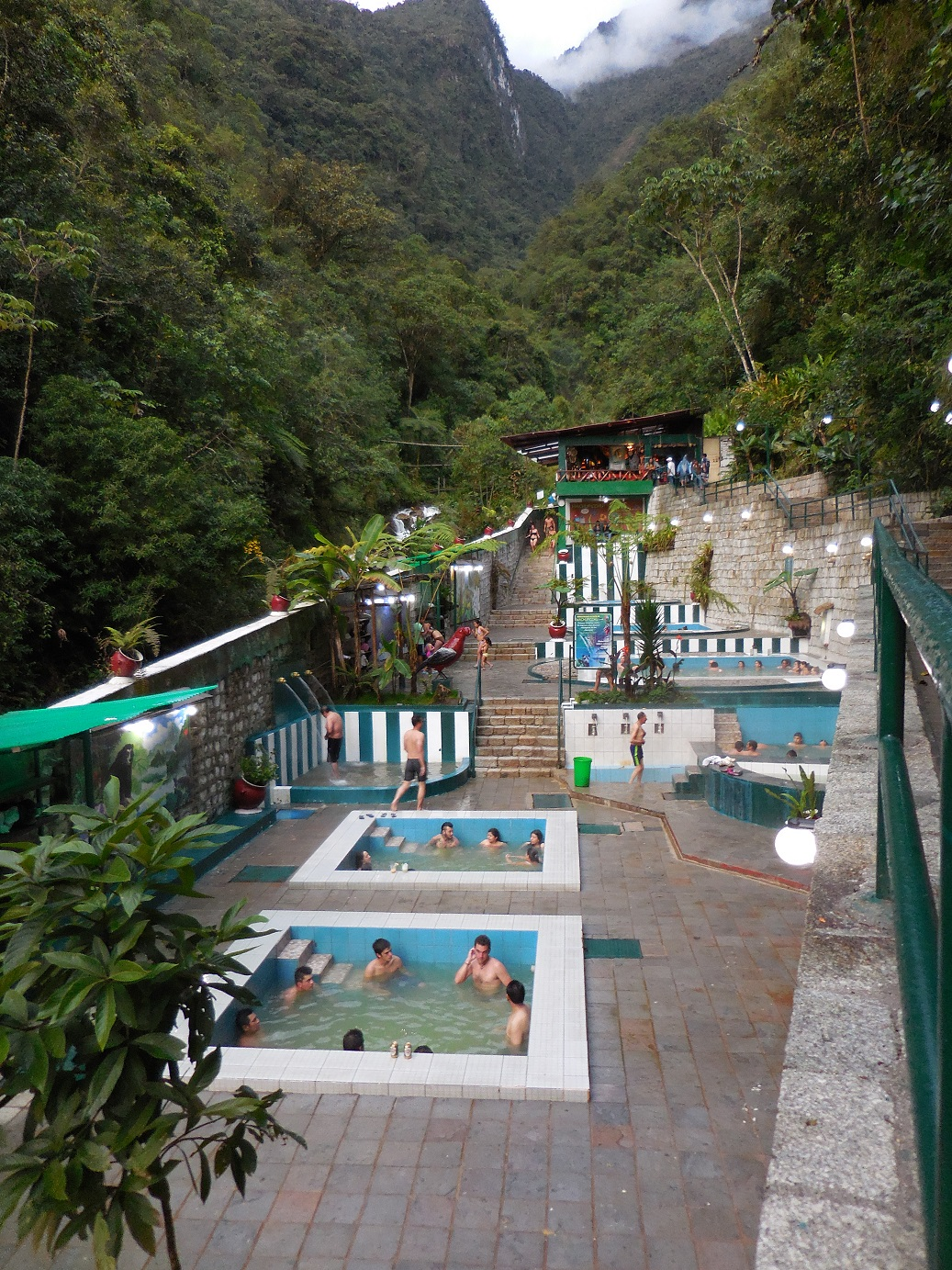 Thermal Baths in Aguas Calientes