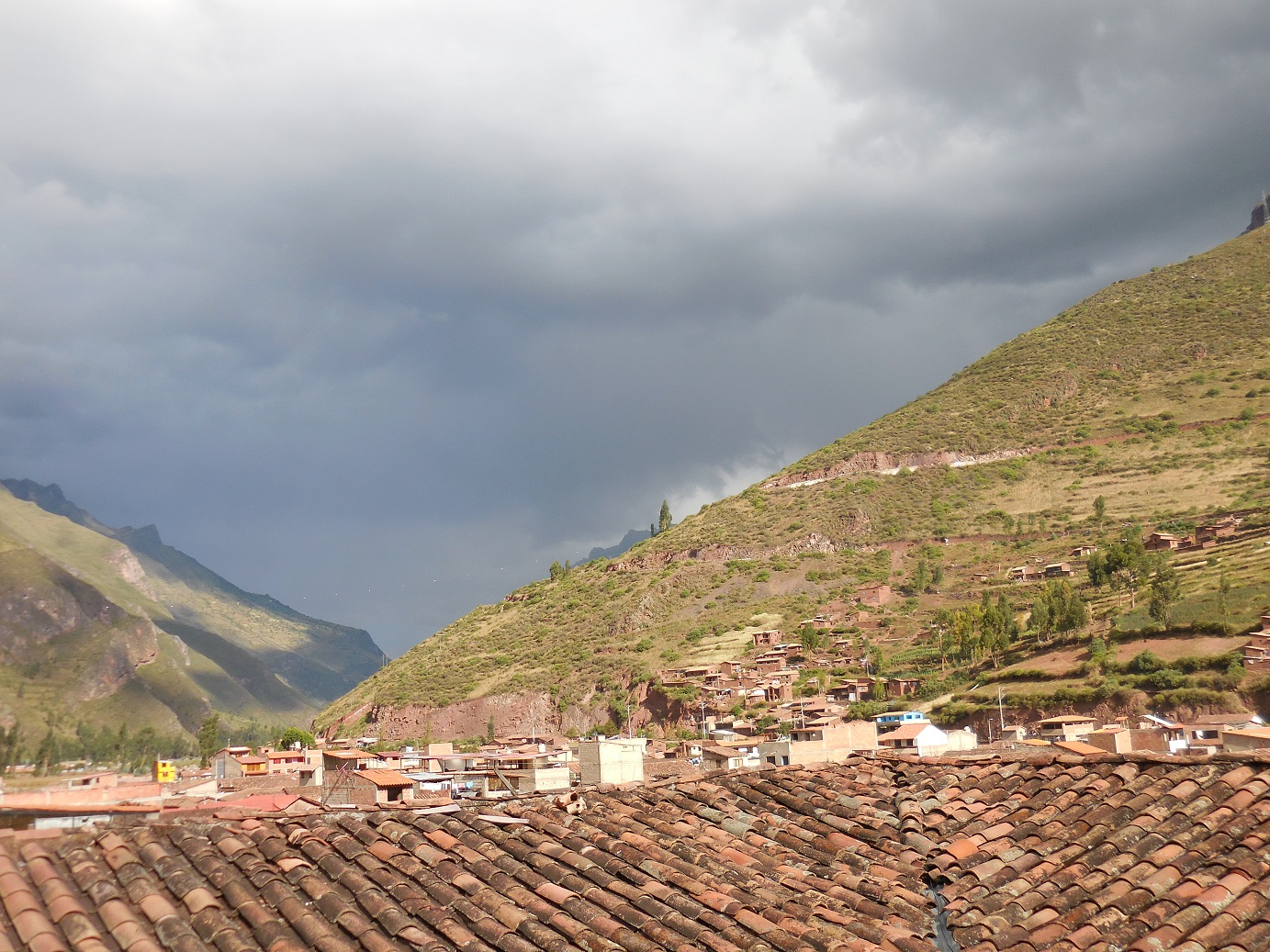 PIsac from a terrace