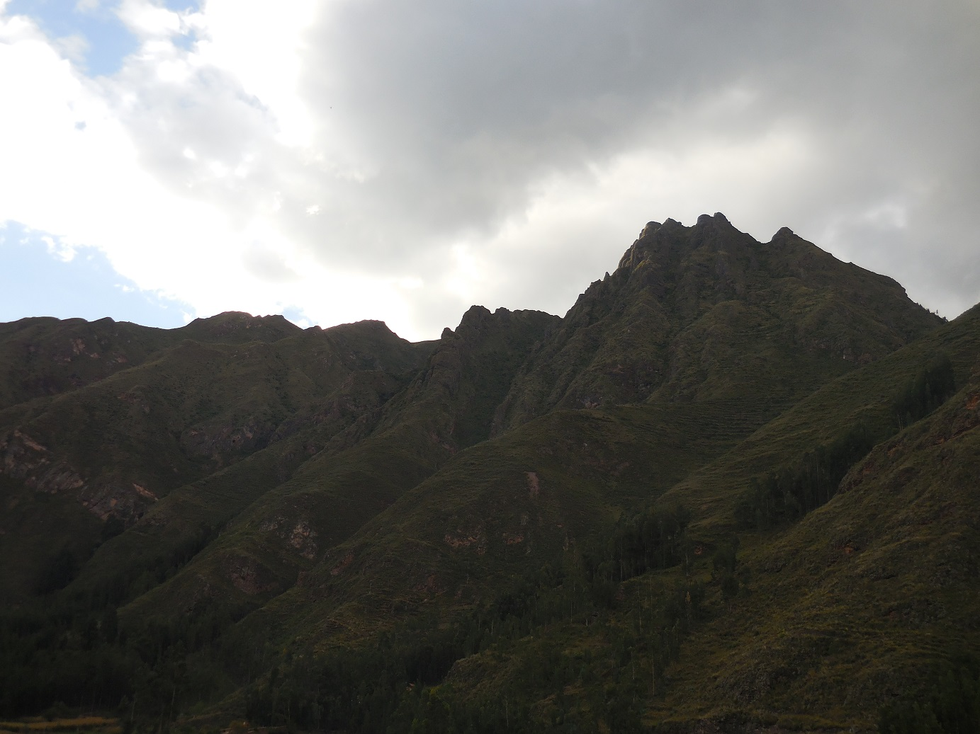 Pisac Mountains
