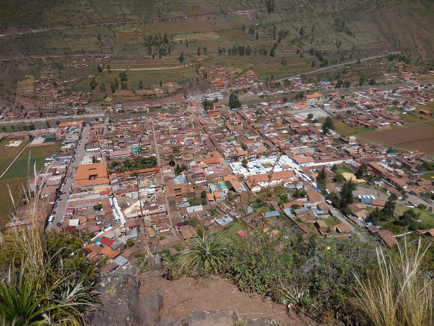 Pisac from the Mountains