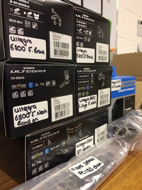 0e3802f58e Is Shimano Di2 for you  More info on features and prices! — Academy ...
