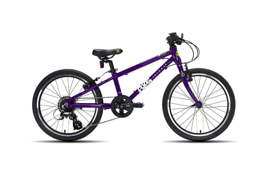 The Frog 52 (original - £300) is the first in the range of geared hybrid bikes. Rapid-fire trigger shifters, which work based on finger and thumb interactions, help children to learn and understand how bike gears work.