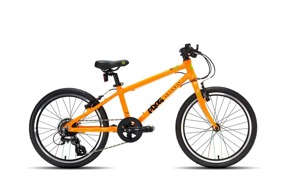 The Frog 55 (£310) was one of the most popular sizes that we sold at Speeds. Designed for kids aged between 6 and 7 years old this bike comes in a variety of colours.