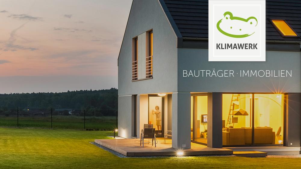KLIMAWERK BAUTRÄGER + IMMOBILIEN - Wir planen und realisieren Einfamilienhäuser, Doppelhäuser und Mehrfamilienhäuser. Hierbei verbinden wir moderne Architektur mit zukunftsfähigen Energiekonzepten, um beste Wohnqualität mit niedrigen Verbrauchskosten zu kombinieren. Dadurch ist eine stabile Werterhaltung und Langlebigkeit garantiert.