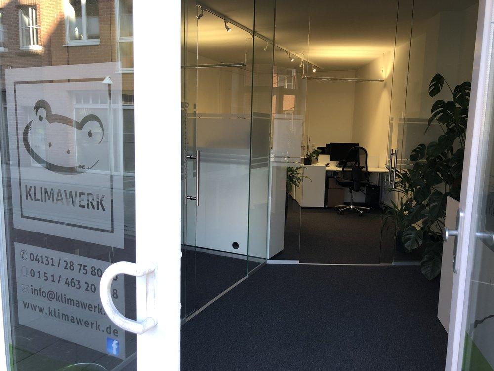 KLIMAWERK - Besuchen Sie uns in unserem Büro in Lüneburg.
