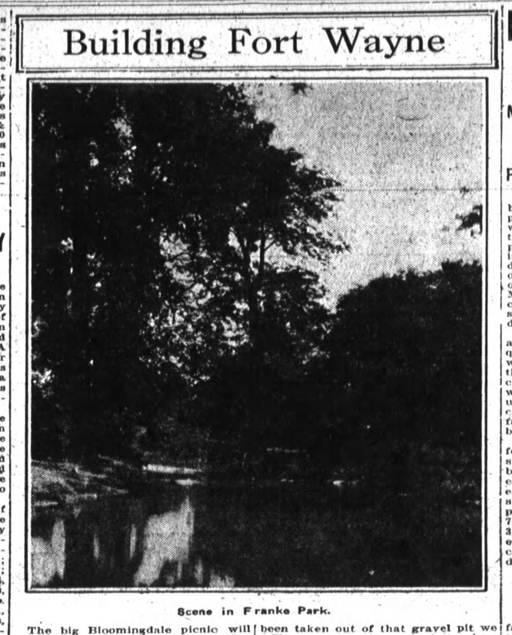 1922 Sentinel Picnic