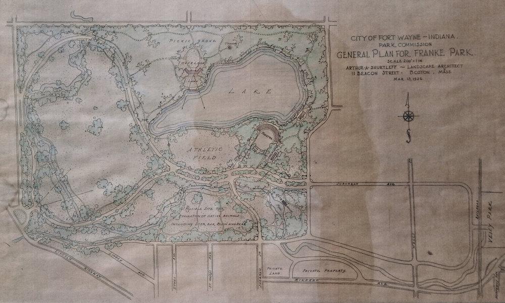 1926 Shurtleff Plan