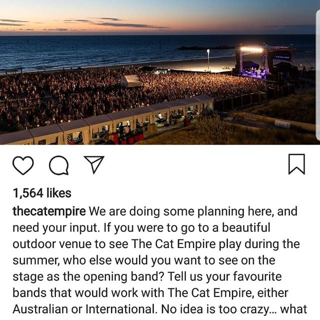 Good morning,  We'd really love the chance to be noticed for this amazing opportunity presented by the band that have inspired us the most to do what we do .. @thecatempire  Please could we ask you to follow the link below and put @flatcapcarnival in the comments section.  Thank you so much in advance and thanks to everyone who has followed us so far this year, we have some amazingly exciting things coming up next year and this would really top it off.  Peace FC  https://www.instagram.com/p/BpifOq_D8Jf/?utm_source=ig_share_sheet&igshid=1ouvn6rxfpxud