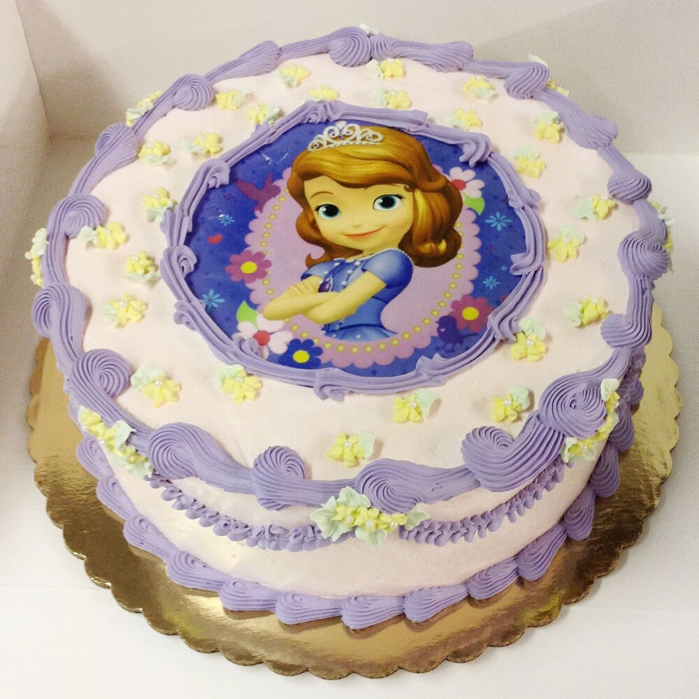 <strong>Cake 5:</strong> Choose your favorite princess!