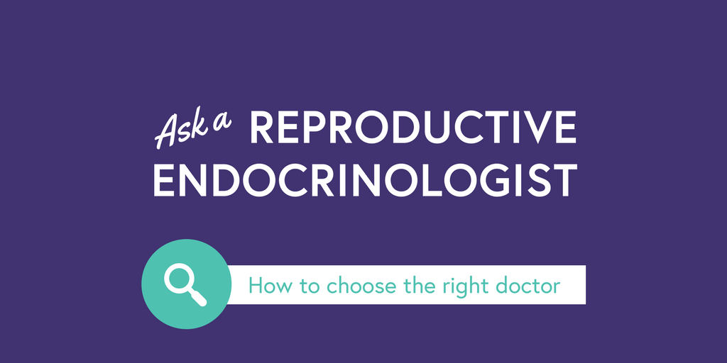 Ask an RE: How do I choose the right doctor? — #SaytheFword