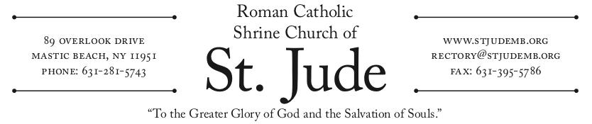 St Jude Masthead