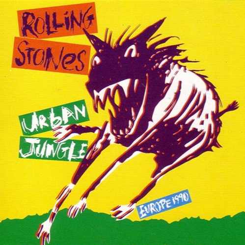 Lighting Crew Chief for the Rolling Stone's 'Urban Jungle' European Tour in 1990 -