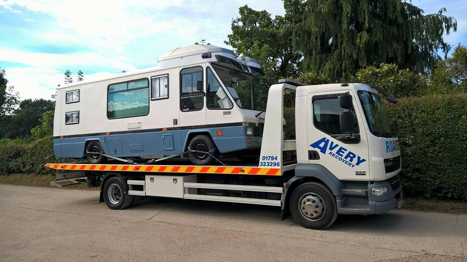 LIGHT VEHICLE RECOVERY Winchester - We can recover anything from mopeds, motorbikes, delivery vans, motorhomes, ambulances and other private or light commercial vehicles.