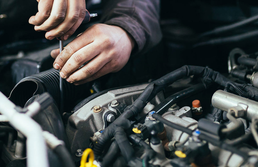 maintenance & REPAIR - We offer full maintenance and repair services to keep your car road-worthy, safe and efficient. Including bodywork, air-conditioning, and mechanical systems.  We can also arrange bodywork repairs in collaboration with our competent partners.