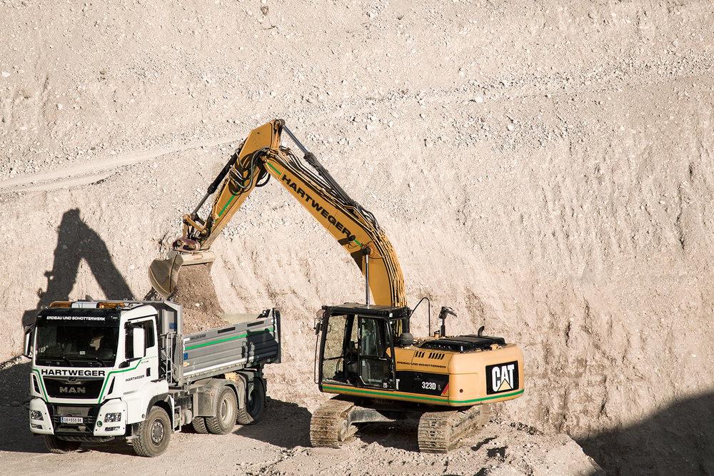 Erdbau - Wegebau, Steinschlichtung, Aushubarbeiten, Leitungs- und Kanal grabungsarbeiten— mehr Erfahren