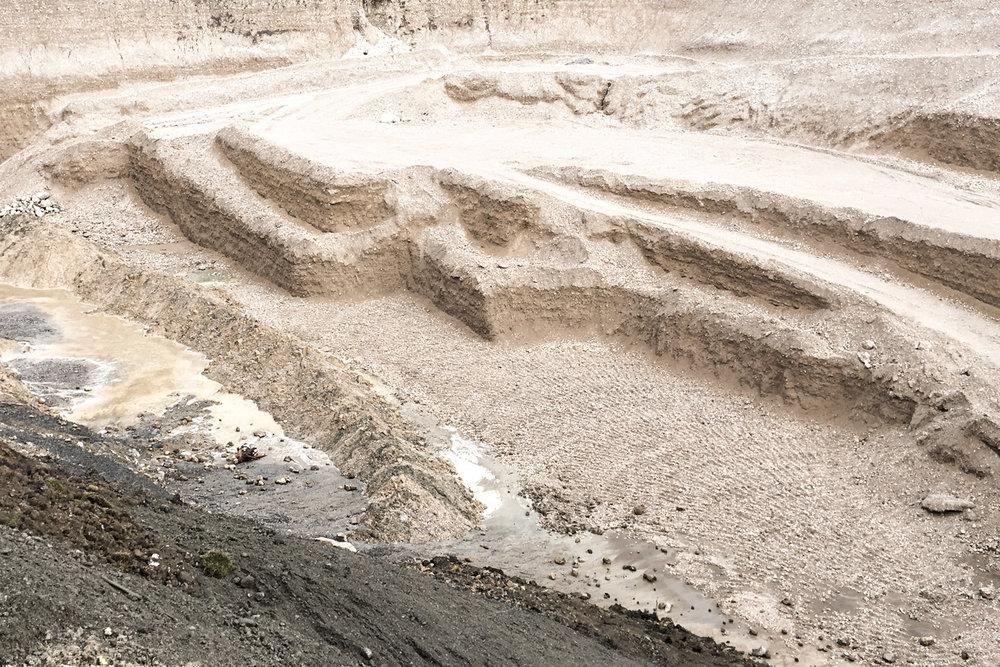 Deponie für Bodenaushubmaterial
