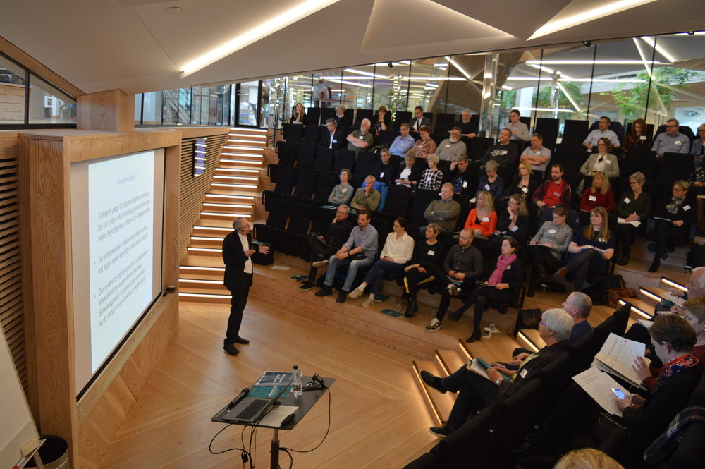 Prof. Anker Brink Lund med en historisk gennemgang af socialøkonomien i Danmark