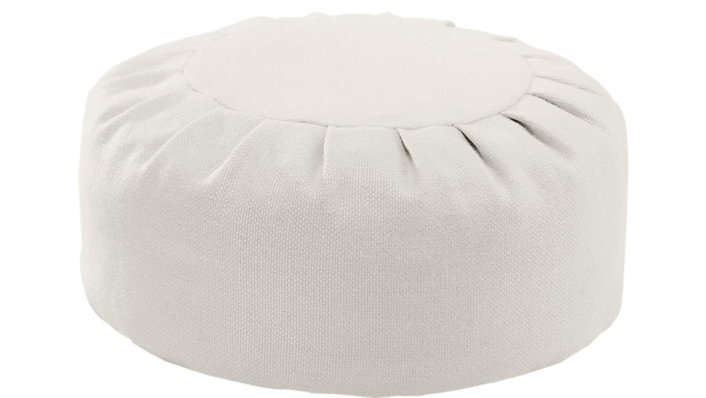 Mindful Self Care Holiday Gifts CB2 Meditation Pillow