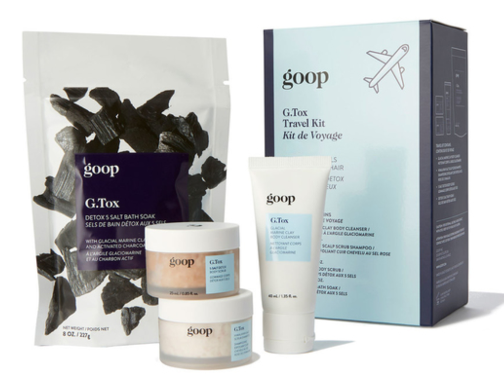 Mindful Self Care Holiday Gifts Goop G.Tox Travel