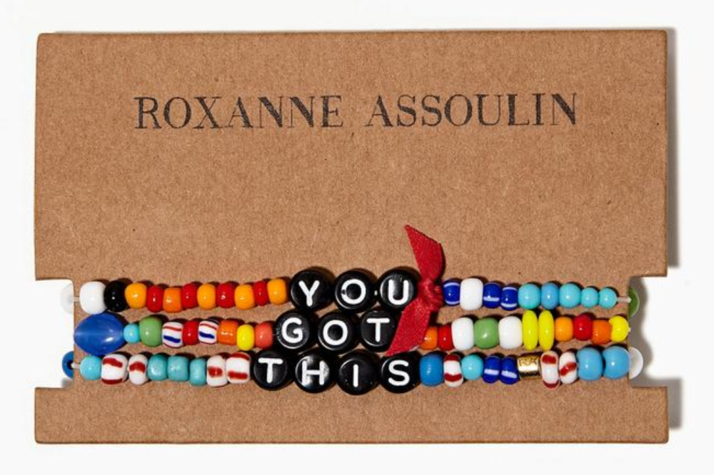 Mindful Self Care Holiday Gifts Roxanne Assoulin You Got This Bracelet